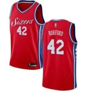 Authentic Philadelphia 76ers Al Horford Red Jersey